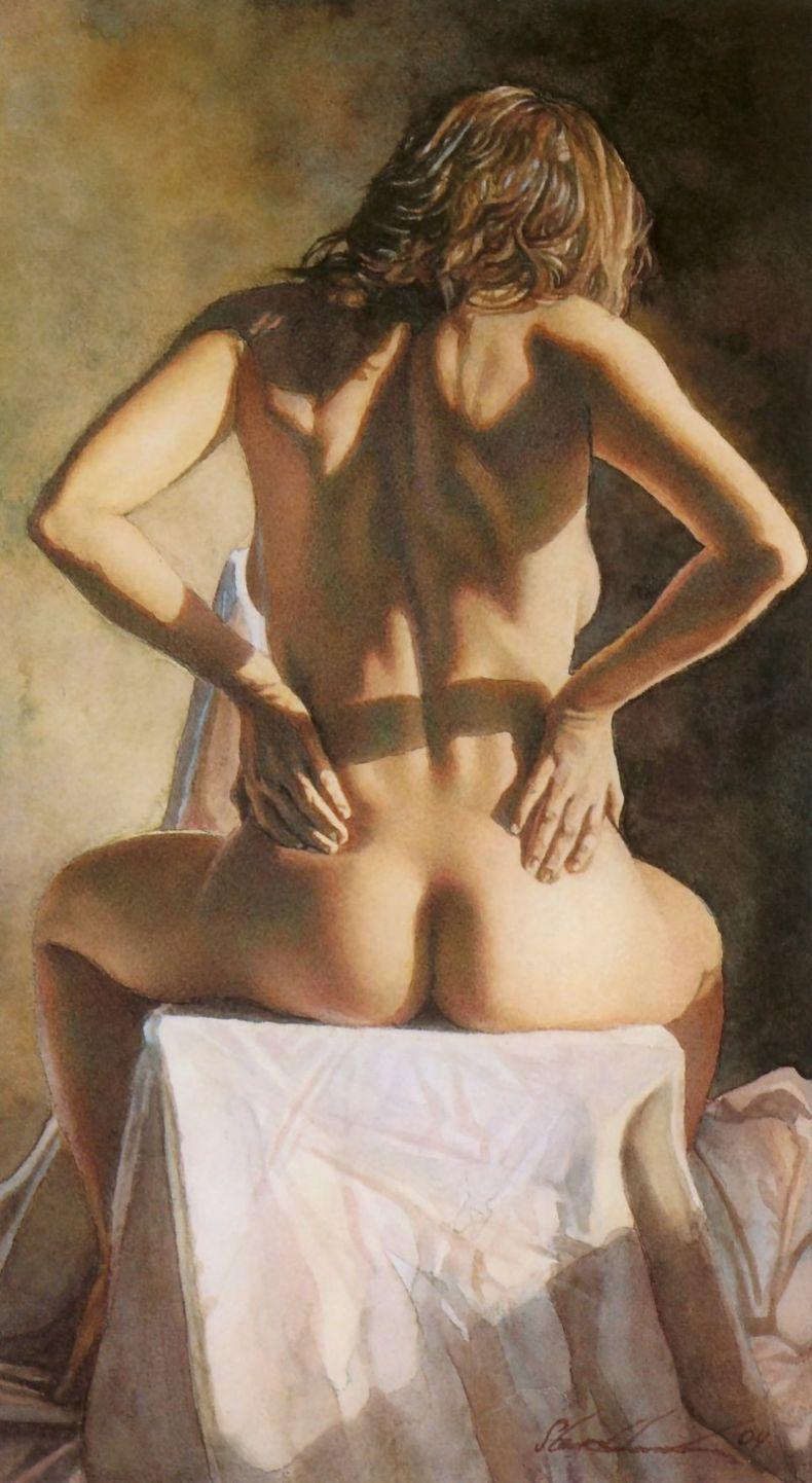 Сам себе картины девушек голых со спины реальное порно